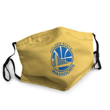 Load image into Gallery viewer, Golden State Warriors N.B.A Hot Mask (PM 2.5)