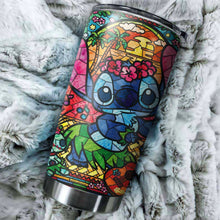 Load image into Gallery viewer, Stitch Aloha Art Tumbler - perfect gift Stainless Traveling Mugs
