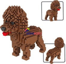 Load image into Gallery viewer, Pets Dog Model Building Blocks
