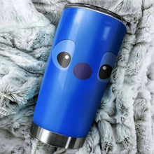 Load image into Gallery viewer, Stitch Eyes Tumbler - perfect gift Stainless Traveling Mugs