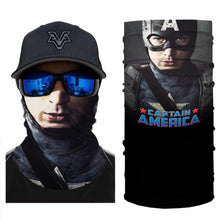 Load image into Gallery viewer, Super Hero Captain USA Bandanas (from 10.99$/pc)