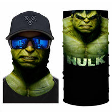 Load image into Gallery viewer, Super Hero Hulk Bandanas (from 10.99$/pc)
