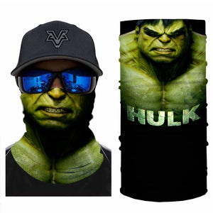 Super Hero Hulk Bandanas (from 10.99$/pc)