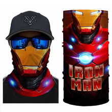 Load image into Gallery viewer, Super Hero lronMan Bandanas (from 10.99$/pc)