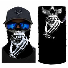 Load image into Gallery viewer, Skull Smoking Bandanas (from 10.99$/pc)