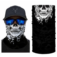 Load image into Gallery viewer, Floral Skull Bandanas (from 10.99$/pc)