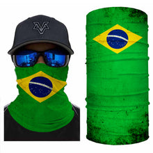 Load image into Gallery viewer, Brazil Flag Bandanas (from 10.99$/pc)