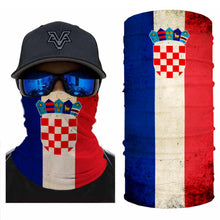 Load image into Gallery viewer, Croatia Flag Bandanas (from 10.99$/pc)