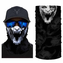 Load image into Gallery viewer, Cool Hornor Wolf Bandanas (from 10.99$/pc)