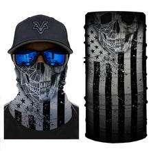 Load image into Gallery viewer, American Skull Black&White Bandanas (from 12.99$/pc)