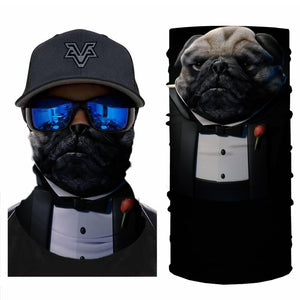 Pug Bandanas (from 10.99$/pc)