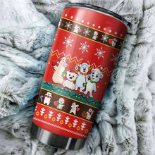 Load image into Gallery viewer, Bear Christmas Tumblers