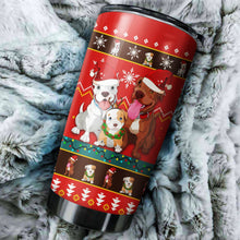 Load image into Gallery viewer, Bulldog 2 Christmas Tumblers