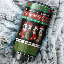 Load image into Gallery viewer, Cow Christmas Tumbler