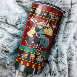 Demon Slayer Tengen Uzui Christmas Tumbler