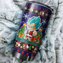 Load image into Gallery viewer, Dragon Ball Z Chritmas Tumbler No.1
