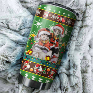 Dragon Ball Z Chritmas Tumbler No.2