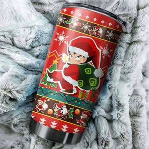 Dragon Ball Z Chritmas Tumbler No.3