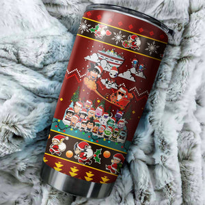 Dragon Ball Z Chritmas Tumbler No.4