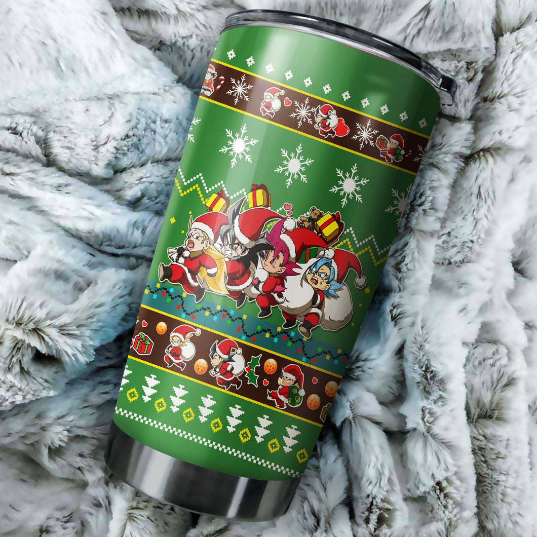 Dragon Ball Z Chritmas Tumbler No.6