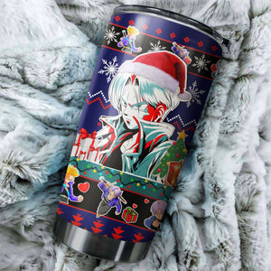 Dragonball Hope Christmas Tumbler
