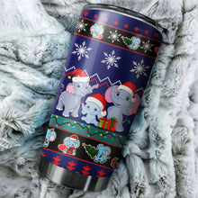 Load image into Gallery viewer, Elephent Christmas Tumbler No.3