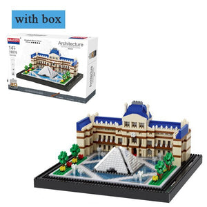 World Famous Architecture Model Building Blocks