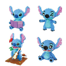 Load image into Gallery viewer, Stitch Figure Cute 3D Building Blocks