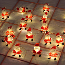 Load image into Gallery viewer, Santa Claus Light String Christmas Decorations