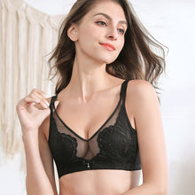 Load image into Gallery viewer, Crystal Cup Breathable Push Up Women Bra