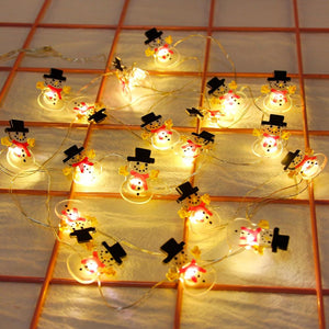 Santa Claus Light String Christmas Decorations