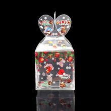 Load image into Gallery viewer, 3Pcs Transparent Candy Box Merry Christmas