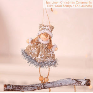 Angel Doll Merry Christmas Decoration For Home 2020