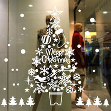 Load image into Gallery viewer, Large Merry Christmas Window Stickers