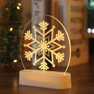 LED Light Christmas Decorations Set