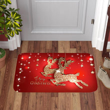 Load image into Gallery viewer, Christmas Flannel Carpet Happy New Year 2021