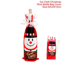 Load image into Gallery viewer, Christmas Wine Bottle