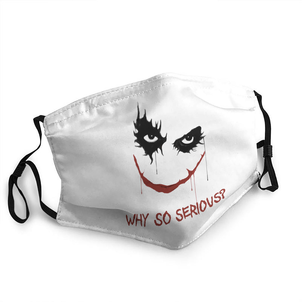 Why So Serious Hornor Mask (from 9.99$/pc)