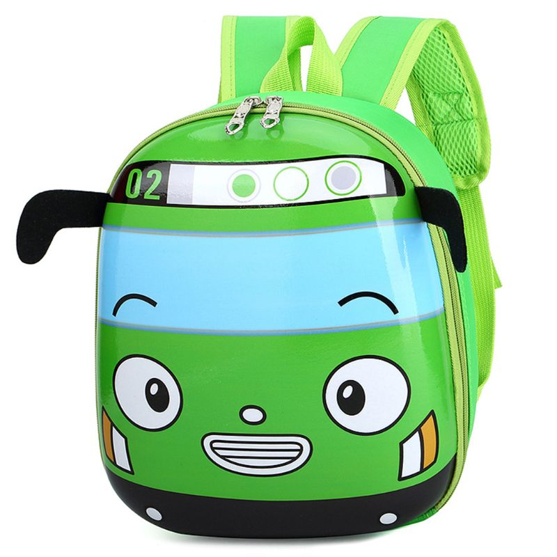 Kid's 3D Car Shape School Backpacks
