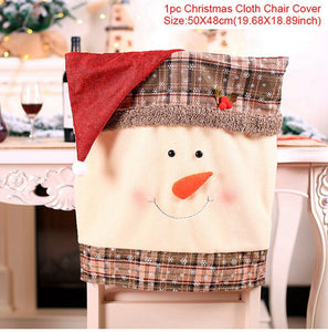 Chair Cover Christmas Decorations