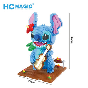 Stitch Figure Cute 3D Building Blocks