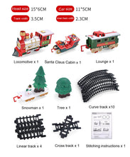 Load image into Gallery viewer, Lights And Sounds Christmas Train Set