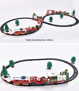 Lights And Sounds Christmas Train Set