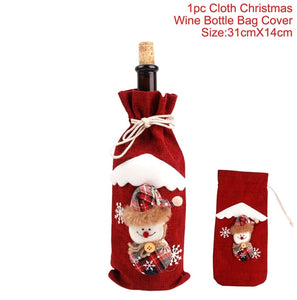 Christmas Wine Bottle