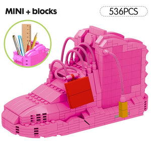 Mini Basketball Shoes Building Blocks