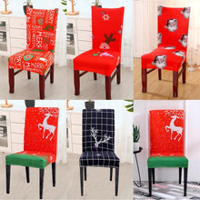 Load image into Gallery viewer, Chair Cover Christmas Decorations