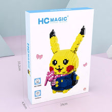 Lade das Bild in den Galerie-Viewer, Cute Pikachu Diamond Blocks