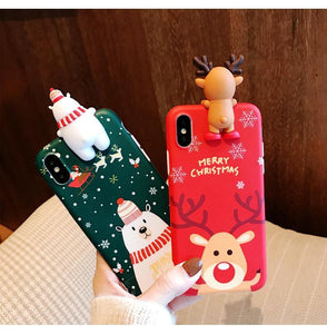 Christmas Theme Soft TPU Phone Cases(Buy now save $3)