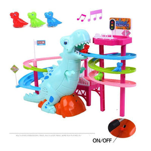 {50% OFF Today!} - Musical Dinosaur LED Race Toy