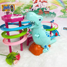 Load image into Gallery viewer, {50% OFF Today!} - Musical Dinosaur LED Race Toy